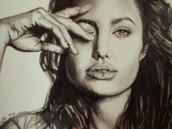 Angelina Jolie por prisci.d